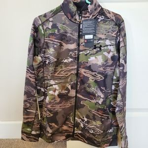NWT Under Armour forest camo early season jacket